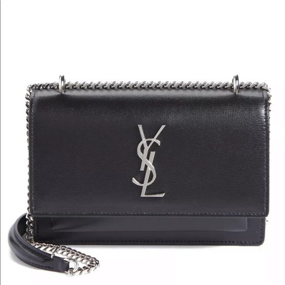 5592656a4f8 Authentic Black YSL Sunset Bag Brand New *FIRM*. Boutique. Yves Saint  Laurent